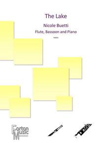 The Lake trio for flute bassoon and piano sheet music available here