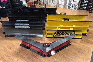 Atv Plows Utv Plows Steel Poly Straight County V-Blade