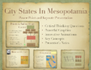City States In Mesopotamia PowerPoint