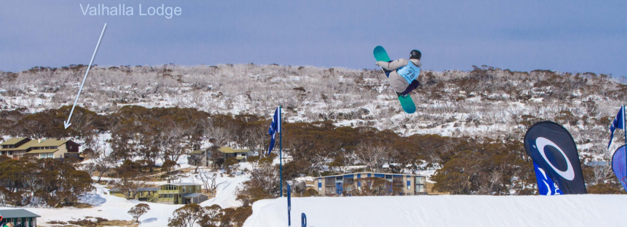 looking at Valhalla from Perisher Resort