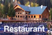 Harriman's Restaurant and Bar at Harriman Springs Resort and Marina, Rocky Point, Oregon