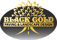 Black Gold logo & project link