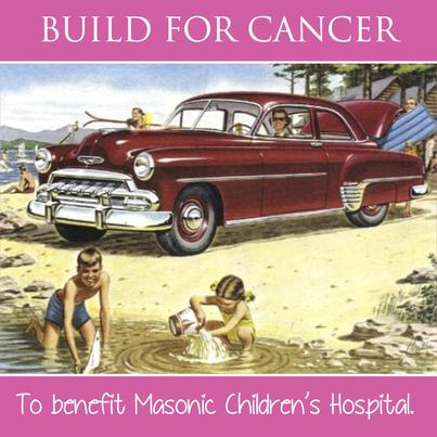 build for cancer gofundme logo and link