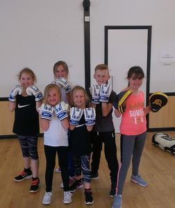 Family Boxercise class
