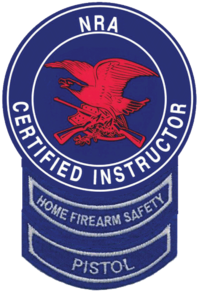 NRA Certified Instructor Patch