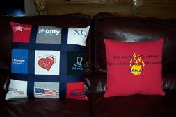 t-shirt pillows