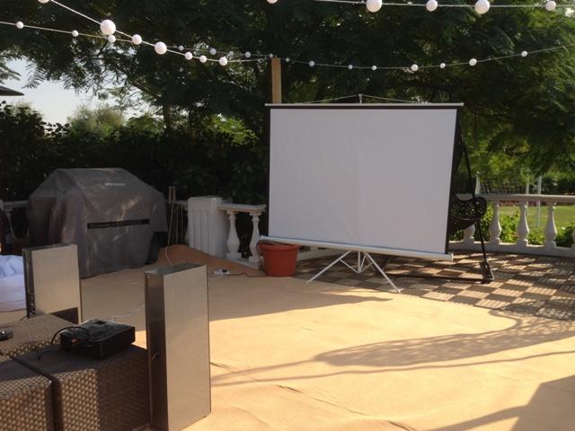 Home Projector l Garden Projector l Cinema Projector Rental