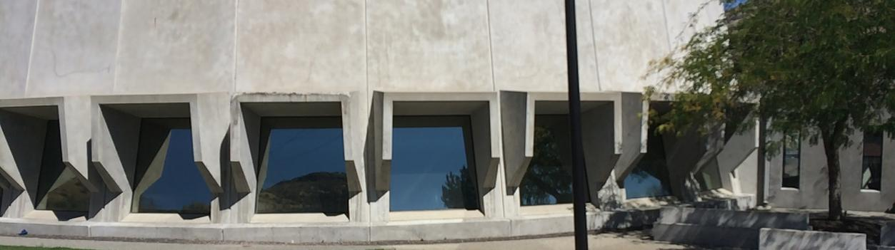 Panorama Slate 10 gives Heat and glare protection on Grand Coulee Dam Visitors Center