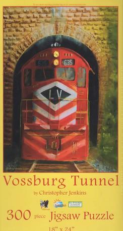 Lehigh Valley Railroad train picture puzzle