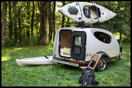 the mypod teardrop trailer