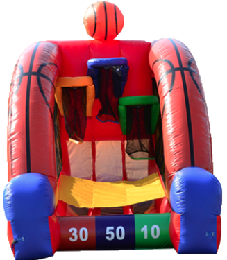 Inflatable Basketball Game Rentals