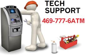 technical support for atm machines
