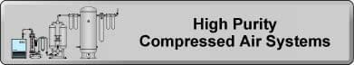 High Purity Compressed Air Systems