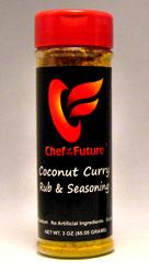 Coconut Curry Seasoning Rub-Chef of the Future-Your Source for Quality Seasoning Rubs
