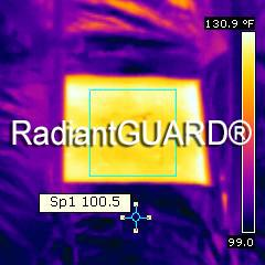 radiant barrier thermal