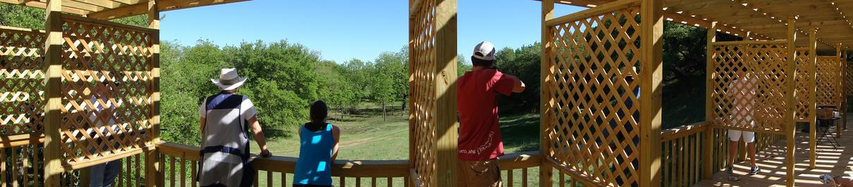 5F Ranch Sporting Clays Stand