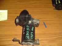 586890 Used starter for a 1989 200 hp Johnson or Evinrude outboard motor. OEM #586890
