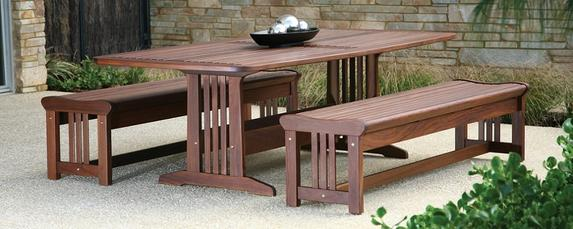 Lincoln Dining set with benches