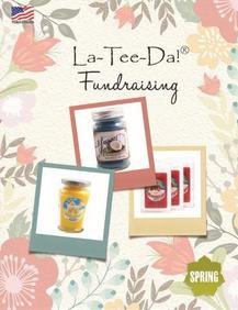 LaTeeDa Home Interiors Candles Fundraiser Brochure
