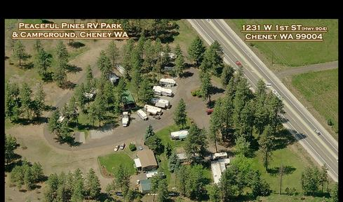 At Peaceful Pines RV Park Campground In Cheney Big Or Small Weve Got You Covered