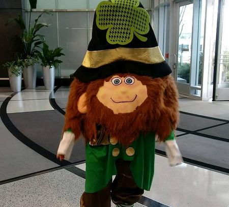Irish Leprechaun: Birthday Telegrams, Singing Magic Grams for all occasions. Hire Elephant, Easter Bunny, Potter Characters Same Day