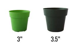 "3"" and 3.5"" Standard Pots"