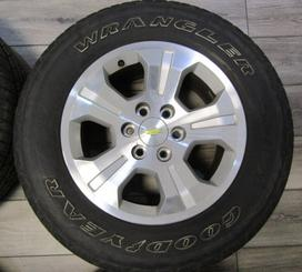 "CHEVY 18"" ALLOY LTZ Z71 TAKEOFF USED RIMS TIRES"