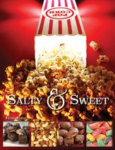 Poppin Popcorn Salty and Sweet fundraiser Brochure
