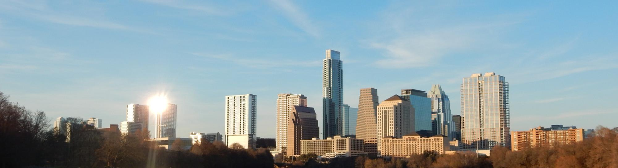Austin TX Skyline Commercial Real Estate