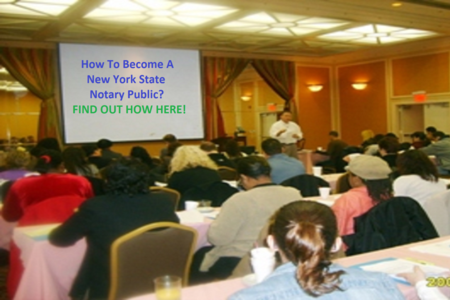 Notary Public New York Classes NYS NYC, Westchester, Dutchess, Albany, Long Island