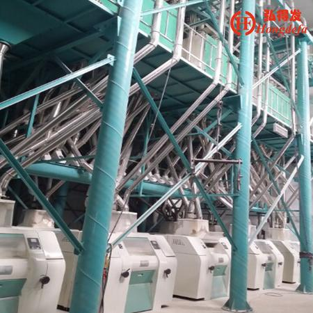 150t wheat flour making machine in Egypt