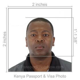 Kenya Passport and Visa Photos Printed and Guaranteed