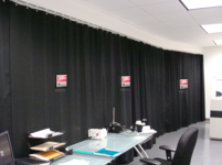 BEAMSTOP'R Laser Safety Curtains