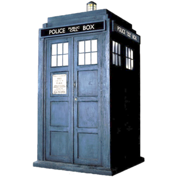 Dr.Who Police Box Tardis