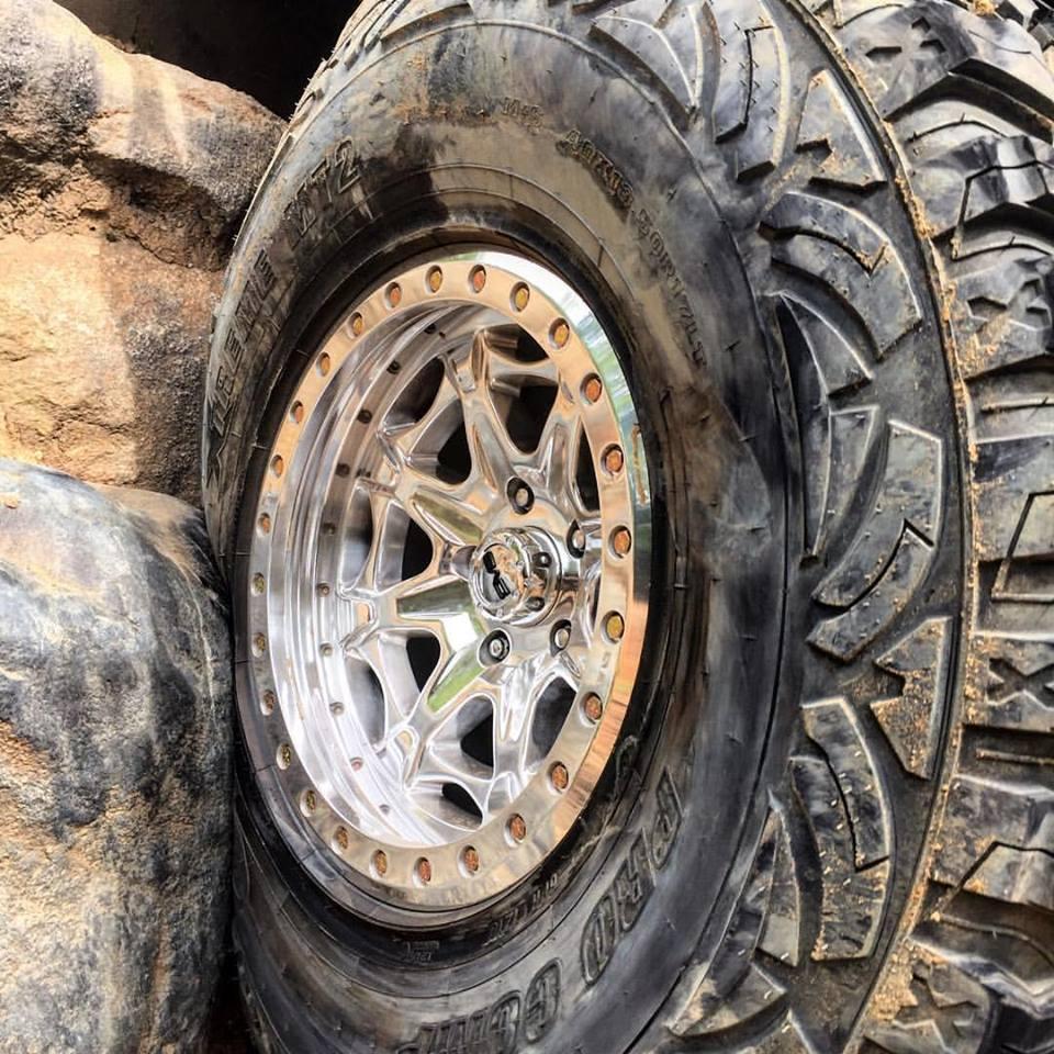 beadlock wheels jeep dv8 wrangler lug polished disposition powdercoated dv8offroad