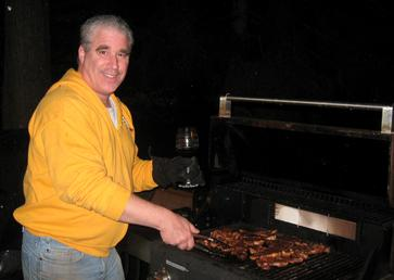 Chef Robert Simon at the Grill