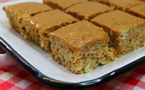Caramel Apple Pie Rice Cereal Bars recipe, Noreen's Kitchen