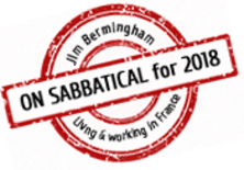 Jim Bermingham is on sabbatical in France during 2018