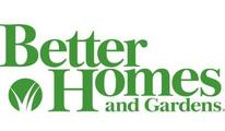 Better Homes and Garden logo.