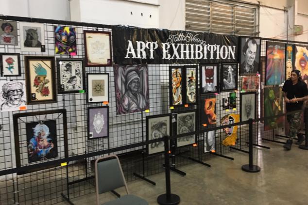 D Art Exhibition Ipoh : Art exhibit
