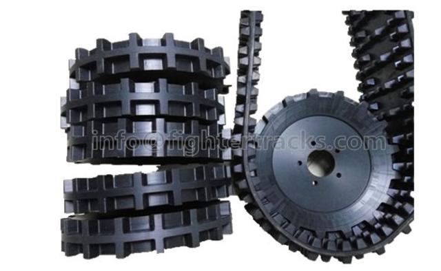drive sprockets for tracked vehicles