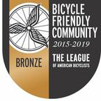Bicycle Friendly Community award logo