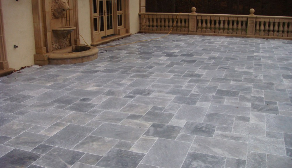 Ma Travertine Pool Patio Pavers Pool Coping For Sale - Blue travertine natural stone tiles