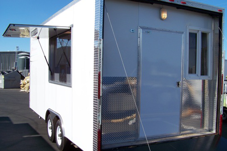 Temporary Kitchen Rentals: Eagle 20' Exterior View