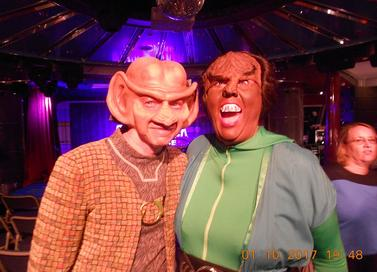 Hire Ferengi, Klingon - Star Trek style Party Characters