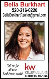 Bella Burkhart, Realtor, Keller Williams Southern Arizona