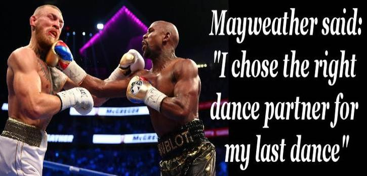 Celebrities Reactions to Mayweather Defeating McGregor