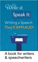 Write It, Speak It is available on Amazon.com