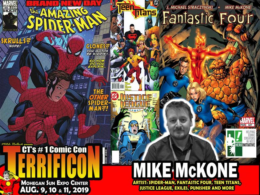 MIKE MCKONE TERRIFICON