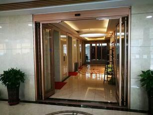 emergency automatic sliding door
